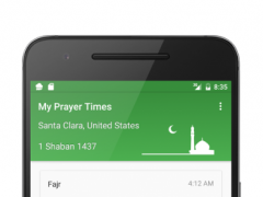My Prayer Times 1.4 Screenshot