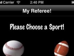 My Referee! 1.2.1 Screenshot