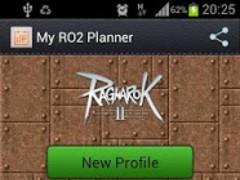 My RO2 Planner 0.18 Screenshot
