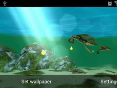 My Seaturtles HD FREE LWP 1.0 Screenshot