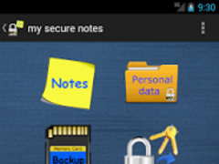 my Secure Notes 2.5.1 Screenshot