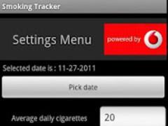 My Smoking Tracker 1.0 Screenshot