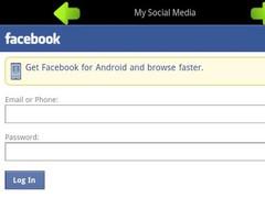 My Social Media 1.1 Screenshot