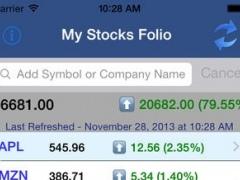 My StocksFolio 3.2 Screenshot
