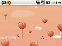 My Valentine GO Launcher Theme 1.5 Screenshot