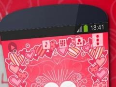 My Valentine Poweramp Skin 1.2 Screenshot