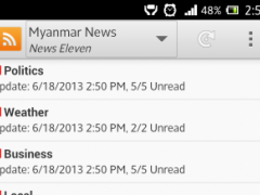Myanmar News 1.5 Screenshot