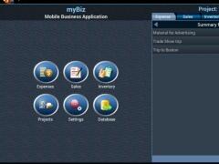 myBiz TE Mobile Business MGR 1.3.0 Screenshot