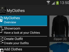 MyClothes LITE mobile wardrobe 1.8 Screenshot