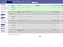 myCMMS 20070131 Screenshot