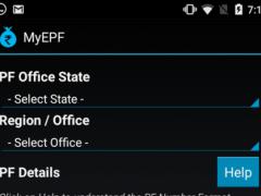 MyEPF  Screenshot