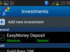 myFinPort Personal Finance 2 Screenshot