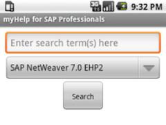 myHelp for SAP Professionals 1.0 Screenshot