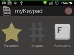 myKeypad 1.9 Screenshot