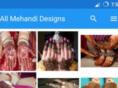 All Mehndi Designs 2017 1.2 Screenshot