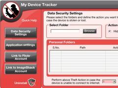 MyLaptopTracker Laptop Tracking Software 3.0 Screenshot