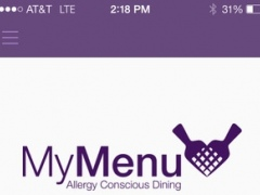 MyMenu Dining 1.2 Screenshot