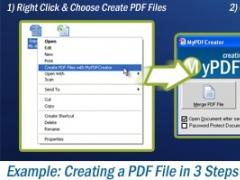 MyPDFCreator Vista 2.1.1 Screenshot