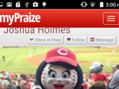 myPraize - Social Network 1.0.2 Screenshot