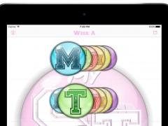 MySchoolTimes - timetable, agenda for iPad 3.0.1 Screenshot