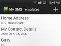 SMS Templates - PRO 1.0 Screenshot