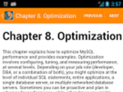 MySQL Manual 1.0.1 Screenshot