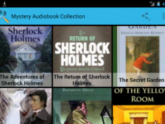 Mystery Audiobook Collection 1.0 Screenshot