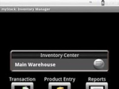 myStock TE Inventory Manager 2.1.0 Screenshot