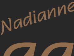 Nadianne Medium FlipFont 1.0 Screenshot