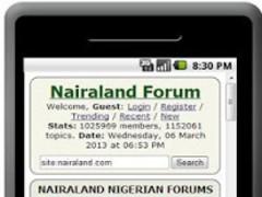 Nairaland Forum 0.1 Screenshot