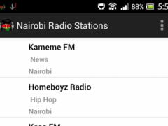 Nairobi Radio Stations 3.0 Screenshot