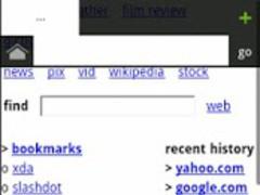 Naked Browser web browser 1.0 Screenshot