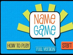Name Game 1.0 Screenshot