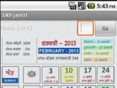 NanakShahi Calendar-Jantri2013 1.0 Screenshot