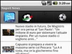 Napoli Football News 6.0 Screenshot
