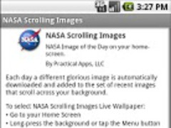NASA Scrolling Wallpaper 1.3.1 Screenshot