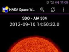 NASA Space Weather 1.0.1 Screenshot