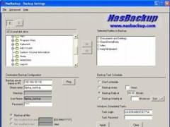 NasBackup backup to network disks 1.05 Screenshot