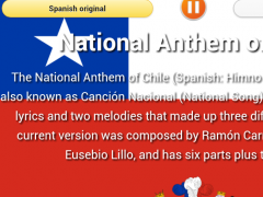 National Anthem of Chile 3.0 Screenshot