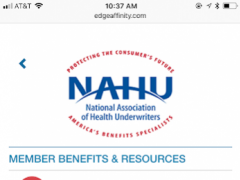 National Association of Health Underwriters 1.0 Screenshot