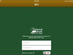 National Bank of St. Anne for iPad 3.4.8.1179 Screenshot