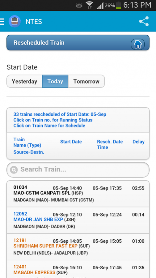 National Train Enquiry System Free Download
