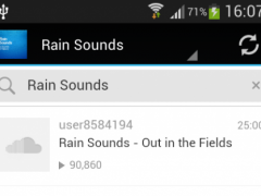 Natur and Rain Relaxing Sounds 2.0 Screenshot