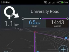 Review Screenshot - GPS App – Navigate to Any Destination without Internet