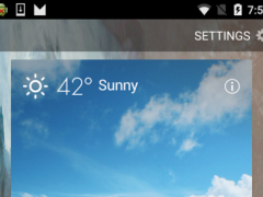 Navigation clock weather 2.9.3 Screenshot