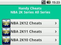 NBA 2K All Series Cheats 3.0 Screenshot