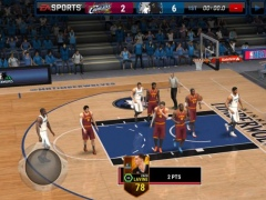 Review Screenshot - Basketball Game – Enjoy Playing Professional Basketball on Your Phone