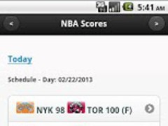 NBA Scores - ESPN NBA Scores 1 0 Free Download
