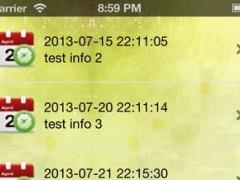 NC Plan task - Timed Reminder plan 1.0.1 Screenshot