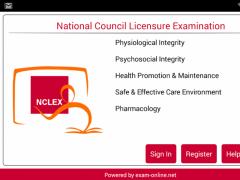 NCLEX Exam Online 1.0.2 Screenshot